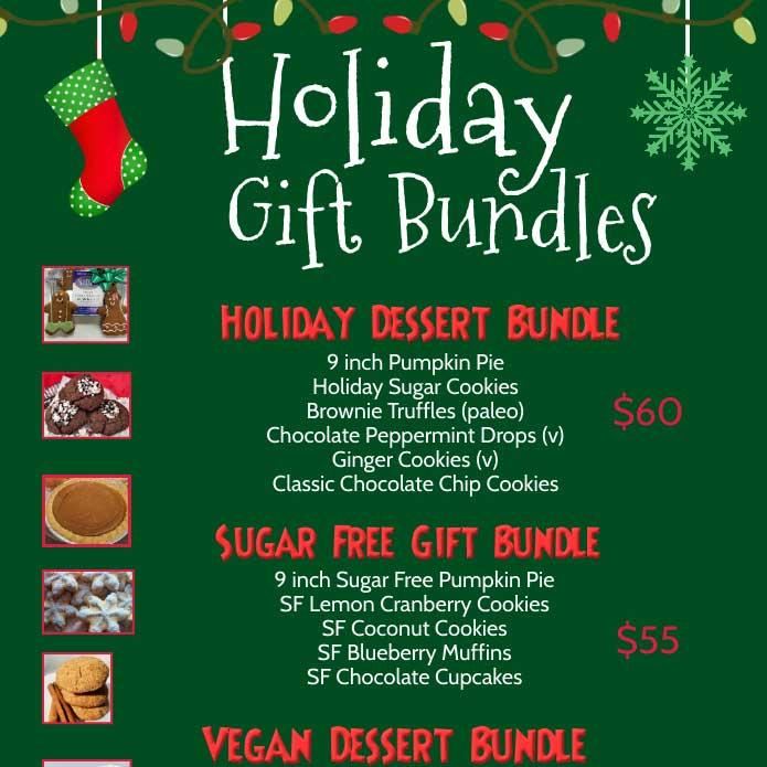 Holiday Gift Bundle Flyer