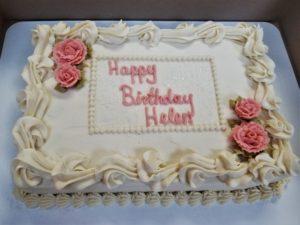 Sheet Cake Birthday