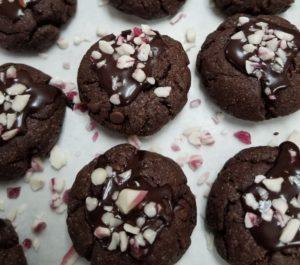 Vegan Peppermint Chocolate Drops