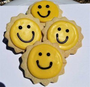 Summer Sun Sugar Cookies