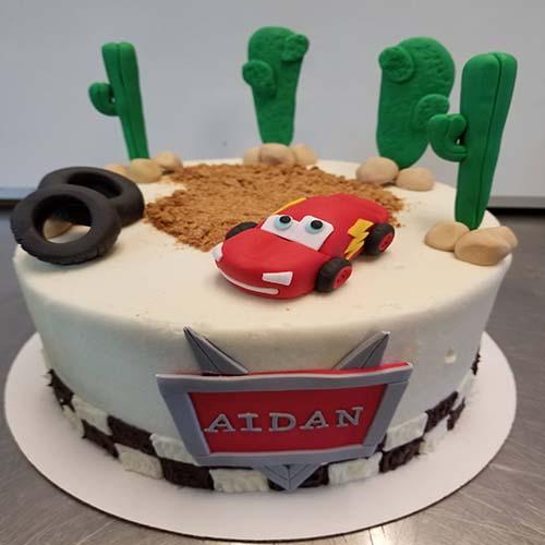 Fondant Child Cake 1