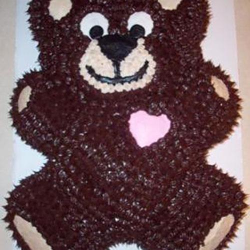 Teddybearcake