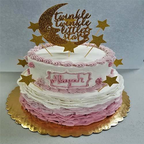 Twinkle Little Star Cake 1