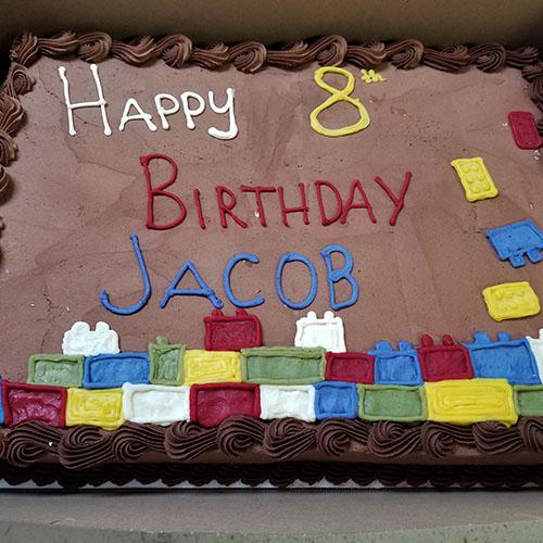 lego cake 5x5